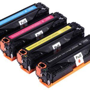 Generic HP 131A (CF212A) - HP 125A (CB542A) - HP 128A (CE322A) - Canon 731 - Canon 716 Yellow Toner Cartridge