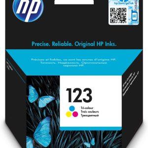 HP 123 Tri-colour Original Ink Cartridge