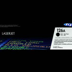HP 126A (CE310A) Black Original LaserJet Toner Cartridge