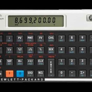 HP 12C Platinum Financial Calculator (NW248AA)
