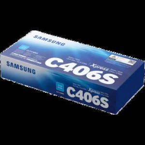 Samsung CLT-406S Cyan Toner Cartridge (ST989A)
