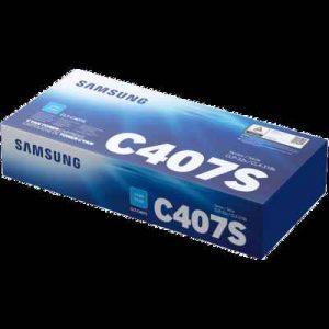 Samsung CLT-407S Cyan Toner Cartridge (ST998A)