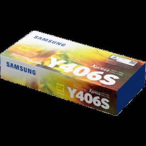 Samsung CLT-406S Yellow Toner Cartridge (SU466A)
