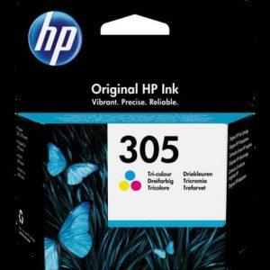 HP 305 Tri-color Original Ink Cartridge