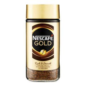 Nescafe Gold Coffee, 200g Jar x 6 Units
