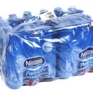 Nestle Pure Life Still Water, 500ml x 24 Bottles