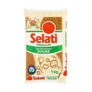 Selati Brown Sugar, 1kg x 15 units