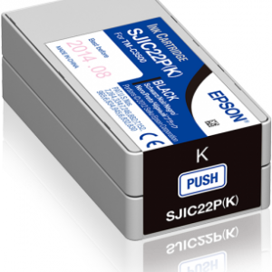 Epson SJIC22P Black Ink Cartridges (C33S020601)